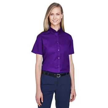 Ladies' Optimum Short-Sleeve Twill Shirt