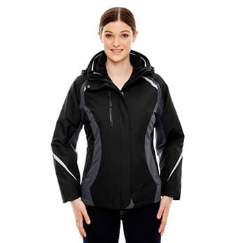 Ladies' Height 3-in-1 Jacket with Insulated Liner