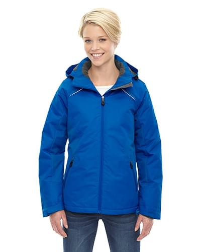 Ladies' Linear Insulated Jacket with Print