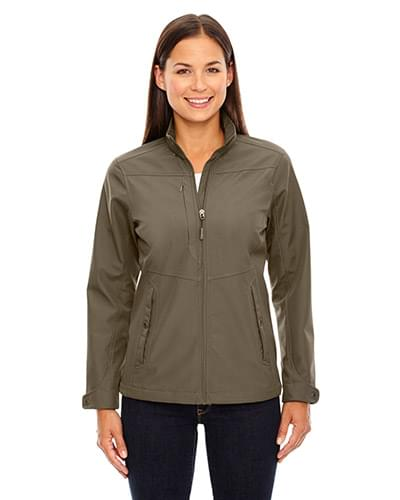 Ladies' Forecast Three-Layer Light Bonded Travel Soft Shell Jacket