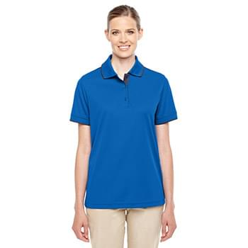 Ladies' Motive Performance Piqu Polo with Tipped Collar