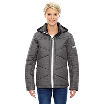 Ladies' Avant Tech Mlange Insulated Jacket with Heat Reflect Technology