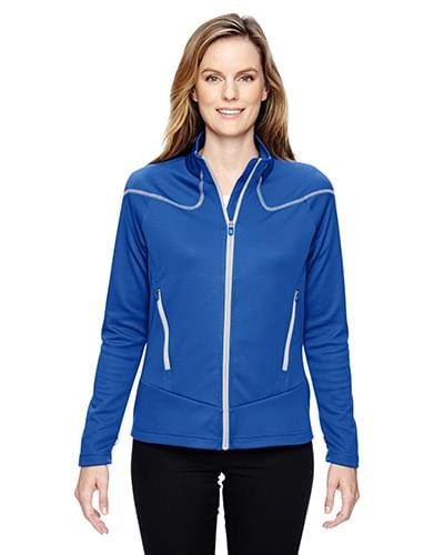 Ladies' Cadence Interactive Two-Tone Brush Back Jacket
