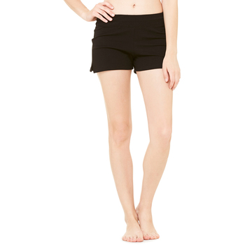 Ladies' Cotton/Spandex Fitness Short