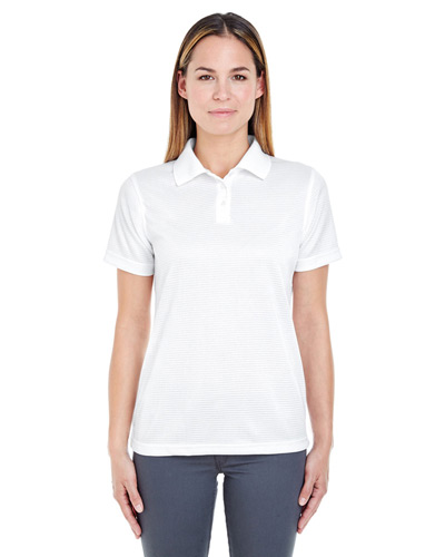Ladies' Cool & Dry Elite Mini-Check Jacquard Polo
