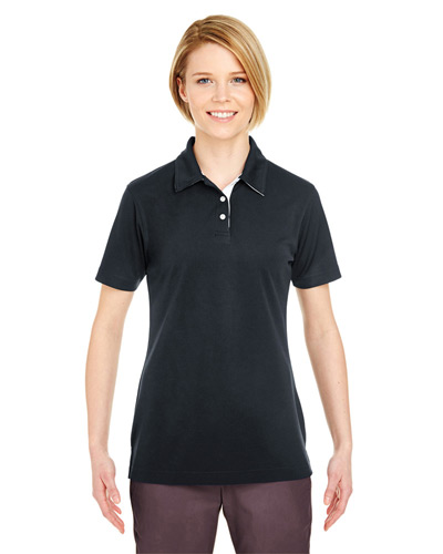 Ladies' Platinum Performance Birdseye Polo withTempControl Technology