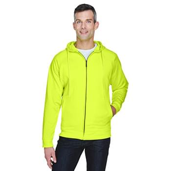 Adult Rugged Wear Thermal-Lined Full-Zip HoodedFleece