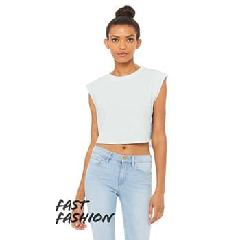 Fast Fashion Ladies' Festival Cropped Tank