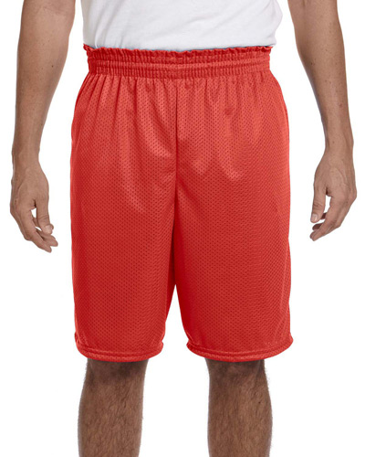 "Adult Tricot Mesh/Tricot-Lined 9"" Short"