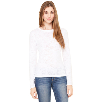 Ladies' Burnout Long-Sleeve T-Shirt