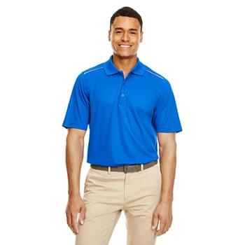 Men's Radiant Performance Piqu Polo withReflective Piping