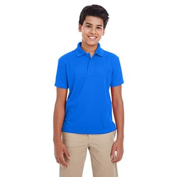 Youth Origin Performance Piqu Polo