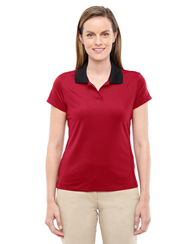 Ladies' climalite ClassicStripe Short-Sleeve Polo