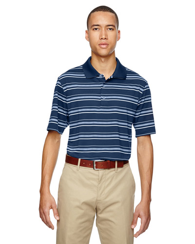 Men's puremotion Textured Stripe Polo