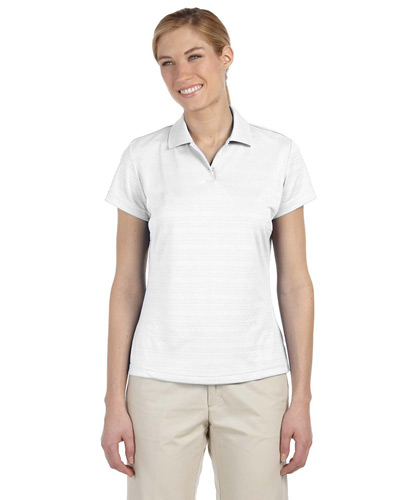 Ladies' climalite Textured Short-Sleeve Polo