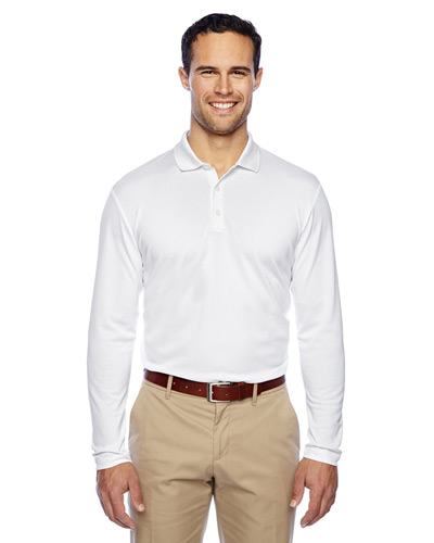 Men's climalite Long-Sleeve Polo