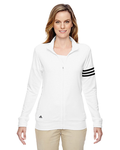 Ladies' climalite 3-Stripes Full-Zip