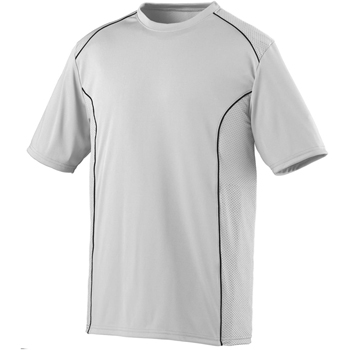 Adult Wicking Polyester Short-Sleeve T-Shirt