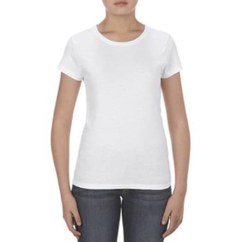 Missy 4.3 oz., Ringspun Cotton T-Shirt