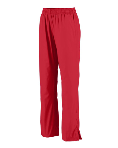 Ladies Polyester Diamond Tech Solid Pant