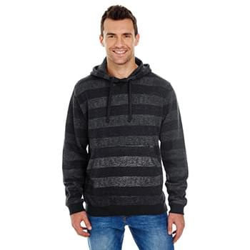 Men's Printed Stripe Marl Pullover