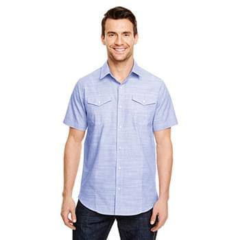 Men's Textured Woven Shirt