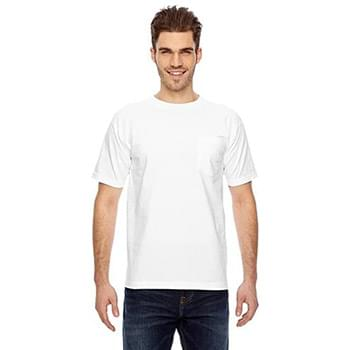 Adult 6.1 oz., 100% Cotton Pocket T-Shirt