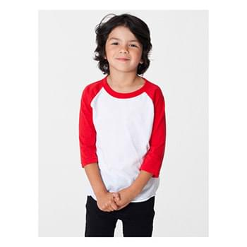 Toddler Poly-Cotton 3/4-Sleeve T-Shirt