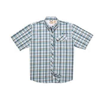 Men's Sport Utility Short-Sleeve Plaid Shirt