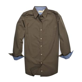 Ladies' Wayfarer Rip Stop Long-Sleeve Shirt