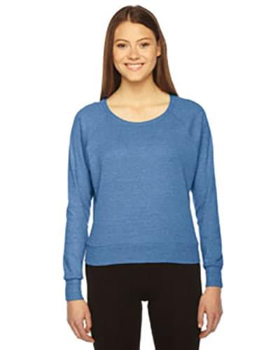 Ladies' Triblend Lightweight Raglan Pullover