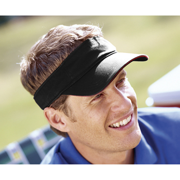 Washed Twill Sandwich Visor