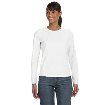 Ladies' Ringspun Garment-Dyed Long-Sleeve T-Shirt