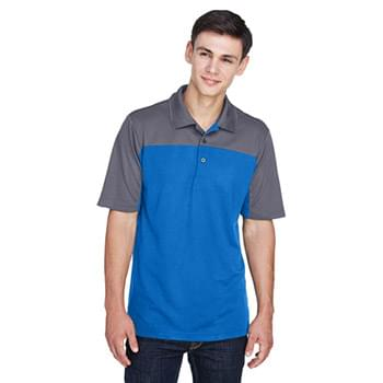 Men's Balance Colorblock Performance Piqu Polo