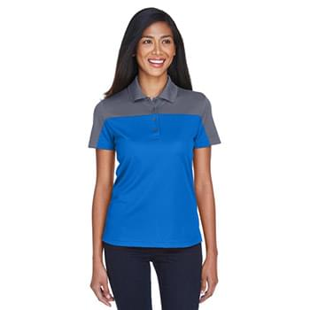 Ladies' Balance Colorblock Performance Piqu Polo