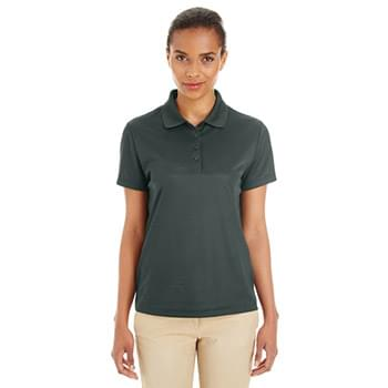 Ladies' Express Microstripe Performance Piqu Polo