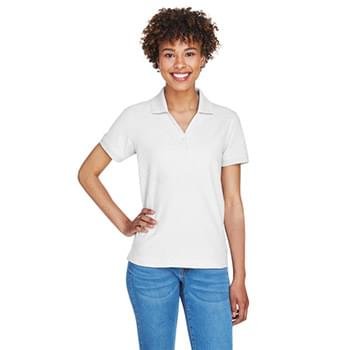 Ladies' Pima Piqu Short-Sleeve Y-Collar Polo