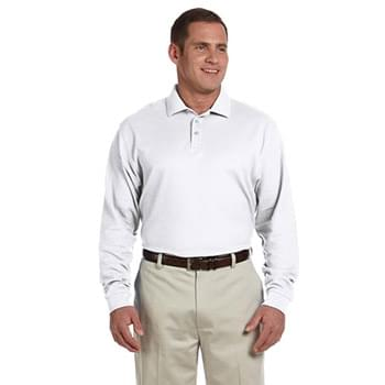 Men's Pima Piqu Long-Sleeve Polo