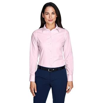 Ladies' Crown Woven Collection Banker Stripe