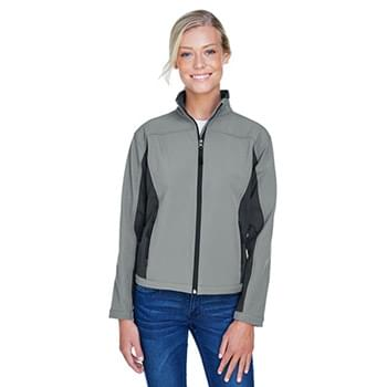 Ladies' Soft Shell Colorblock Jacket
