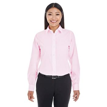 Ladies' Crown Woven Collection Striped Shirt