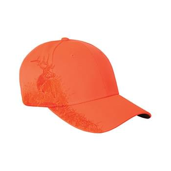 Brushed Cotton Twill Elk Cap