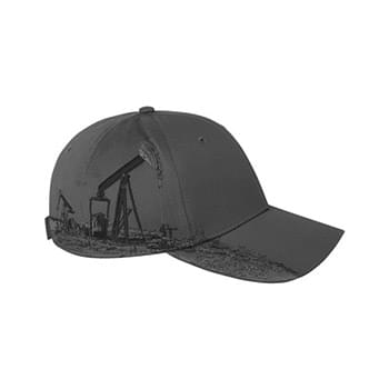 Brushed Cotton Twill Oil Field Cap