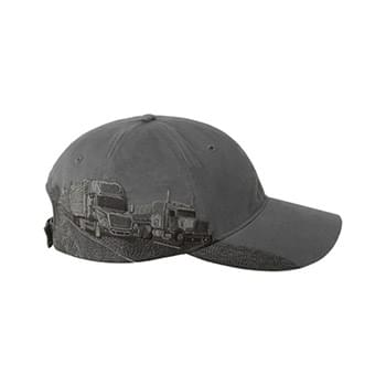 Brushed Cotton Twill Trucking Cap