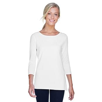 Ladies' Perfect Fit Ballet Bracelet-Length Knit Top