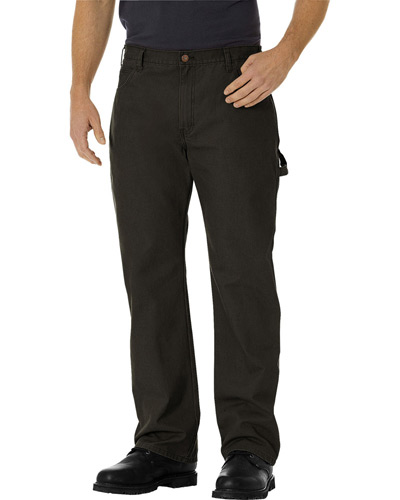 Men's Relaxed Fit Straight-Leg Carpenter Duck Pant