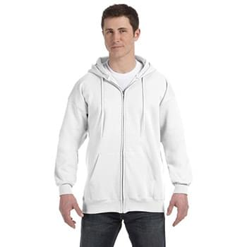 Adult 9.7 oz. Ultimate Cotton 90/10 Full-Zip Hood