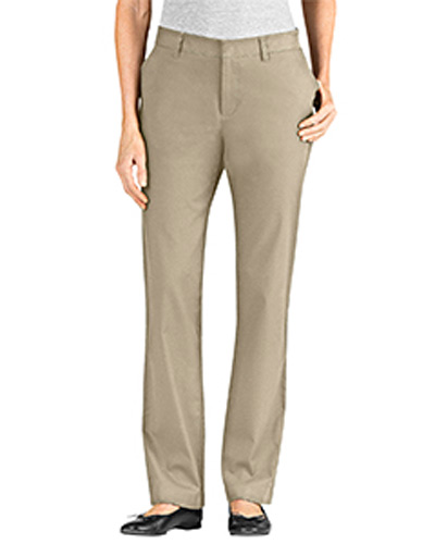 Ladies' Slim Fit Skinny Leg 5-Pocket Twill Stretch Pant