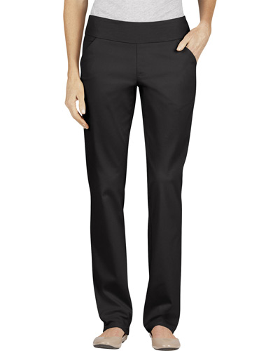Ladies' Modern Fit Straight-Leg Bi-Stretch Pull-On Twill Pant