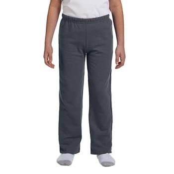 Youth Heavy Blend  8 oz., 50/50 Open-Bottom Sweatpants